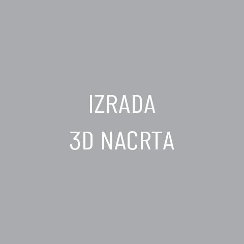 Izrada 3D nacrta